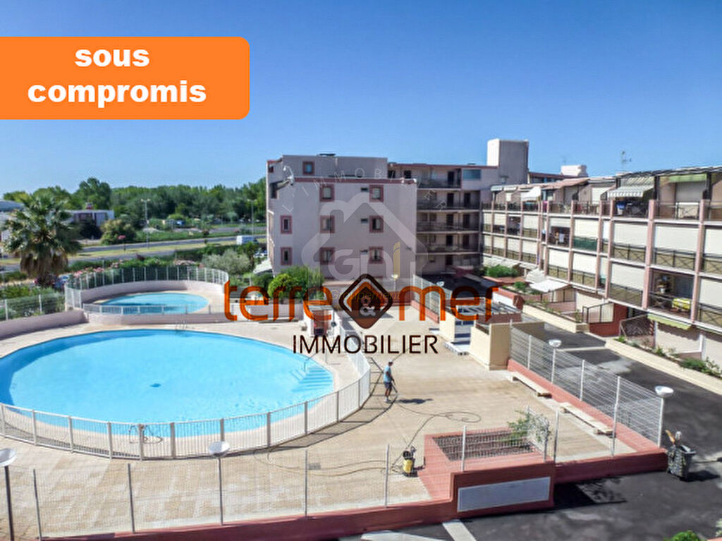 STUDIO 6PERS TERRASSE PISCINE PARKING
