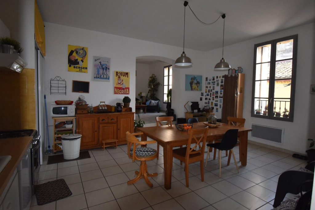 Appartement P3 90m² à Saint Laurent d'Aigouze 3/4